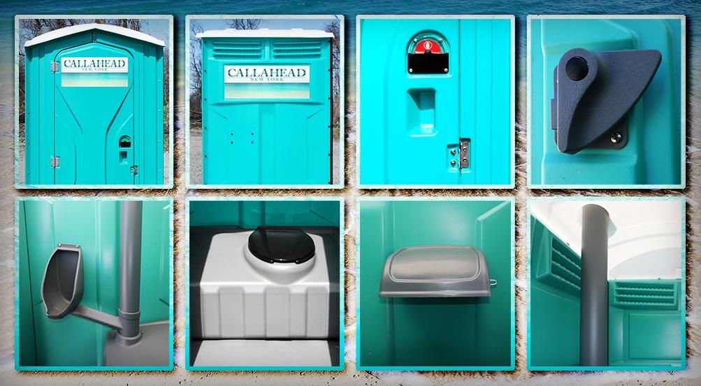 The Aqua Head Portable Restroom Aqua By Callahead 1