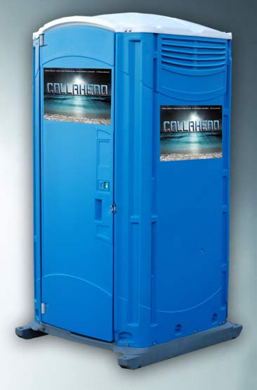 Blue Water Toilet, Portable Toilet for Residential Construction