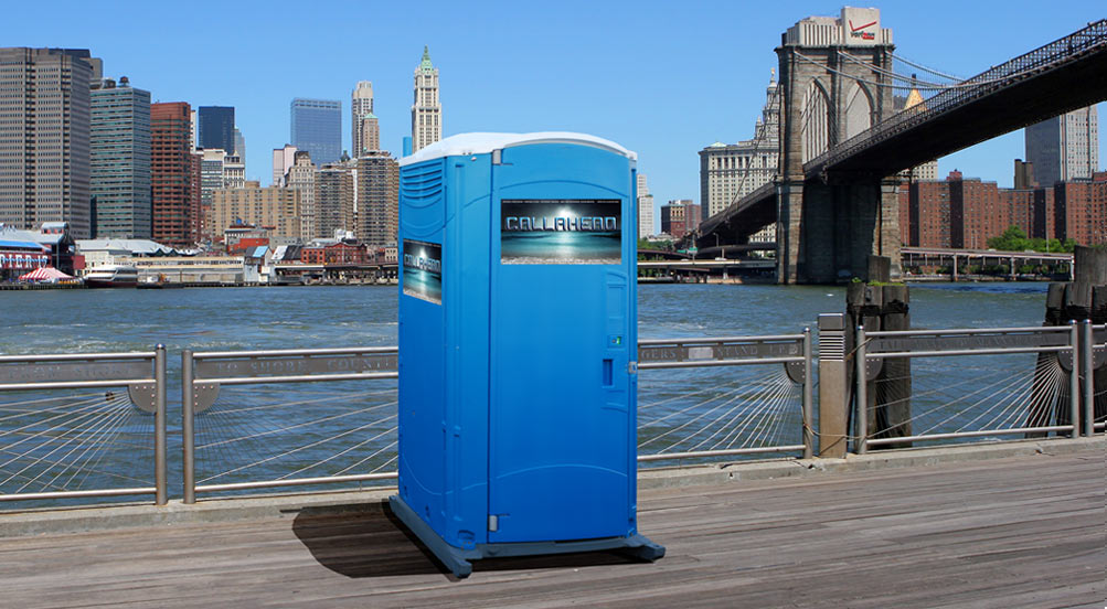 The Blue Water Portable Restroom NY
