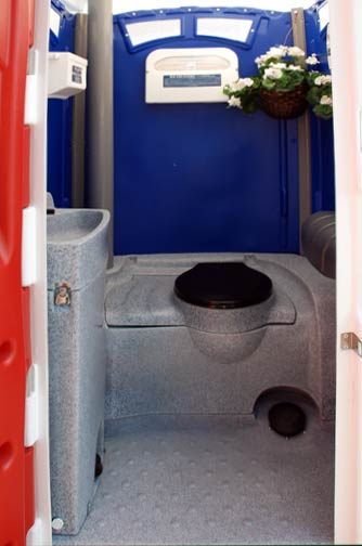 Portable Toilet for Special Events