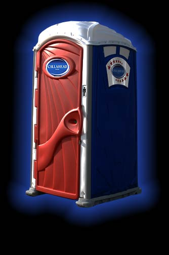 ' The Celebration' Portable Toilet by CALLAHEAD
