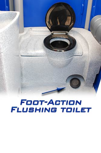 The Celebration Portable Toilet Special Events Portable