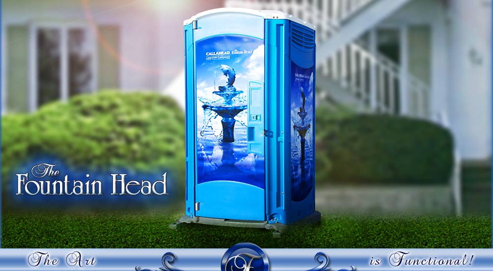 The Fountain Head Portable Toilet by CALLAHEAD