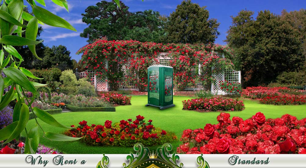 Garden head Portable Toilet