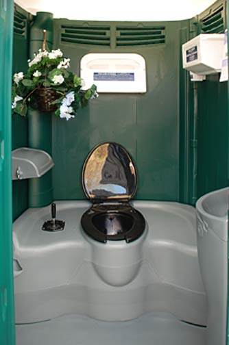The Garden Head Portable Toilet Special Event Portable