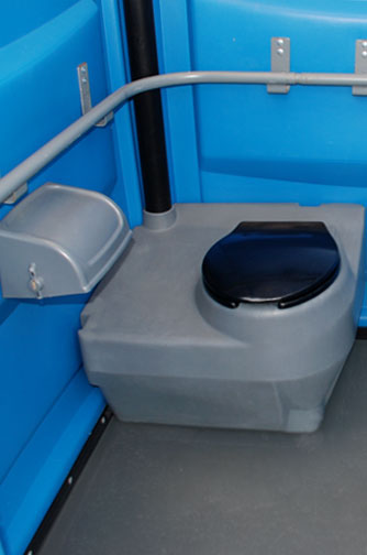Handicapped Potty inside