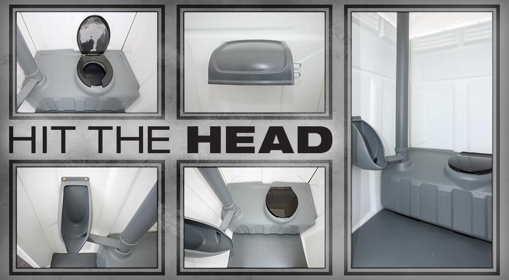 The Head Portable Toilet By Callahead 1 800 634 2085