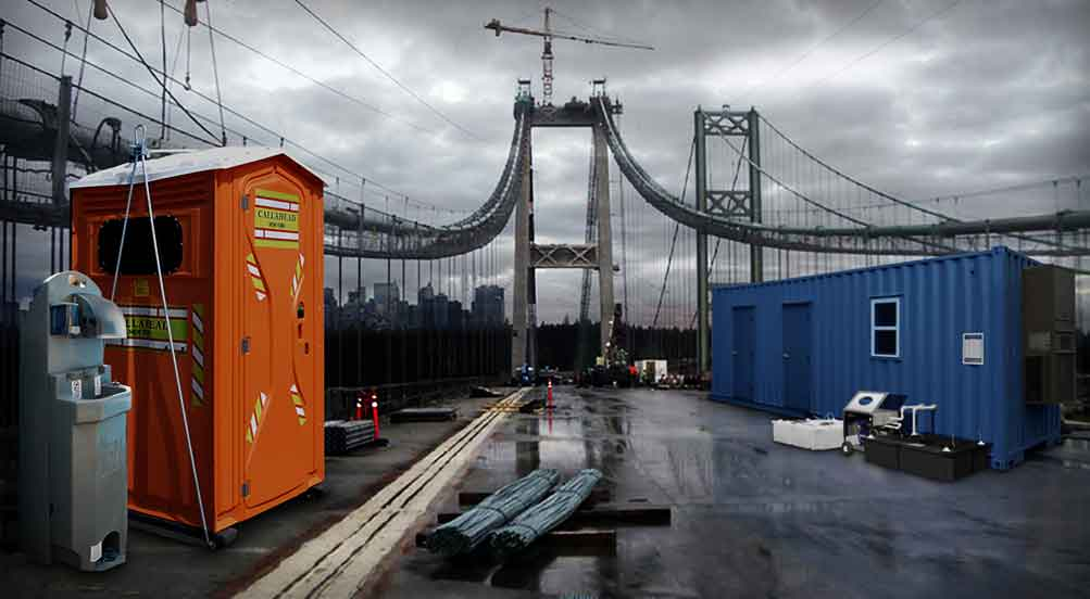 Portable Toilet Recommendations for bridge and tunnel in NY