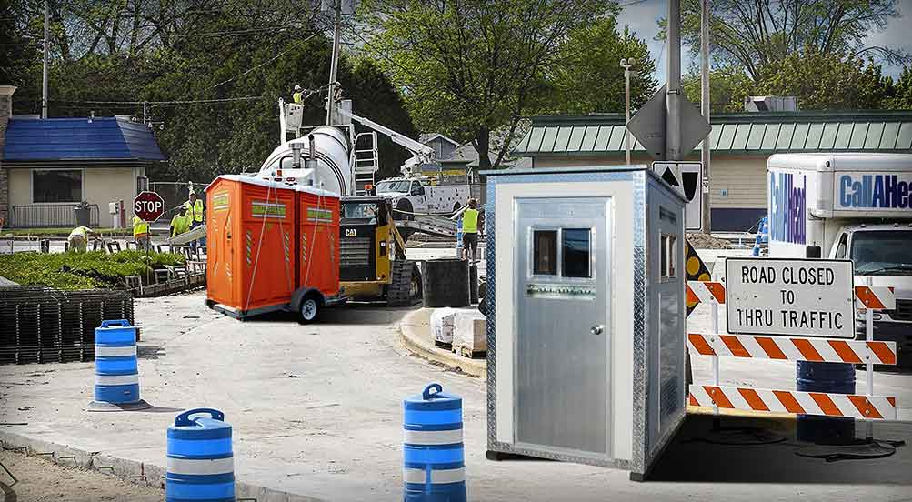 Portable Toilets for Street and Work