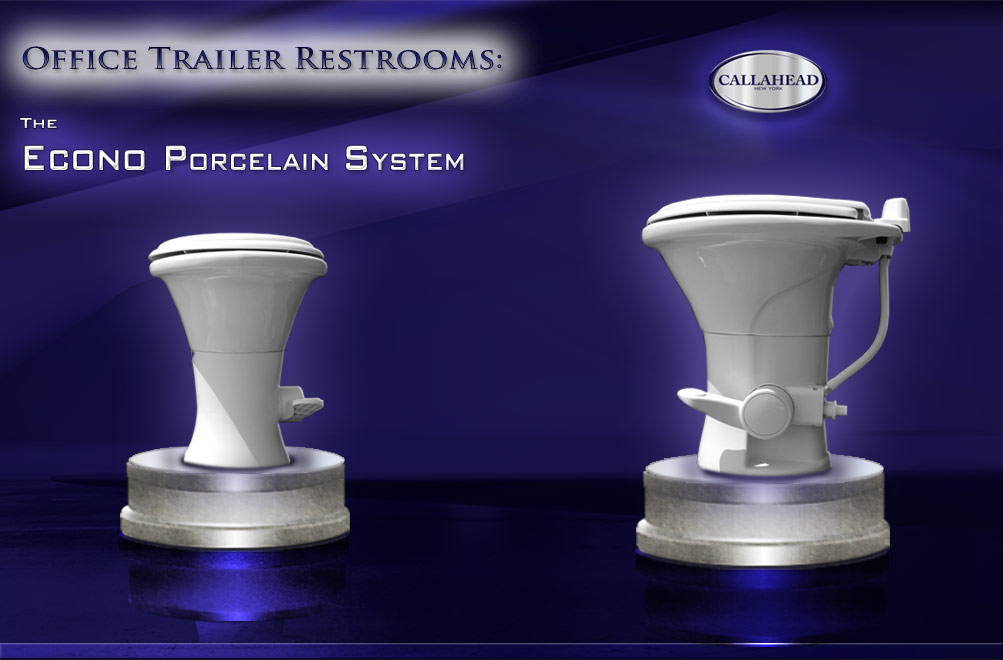 The Econo Porcelain Toilet System