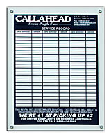 CALLAHEAD Sign In Plate