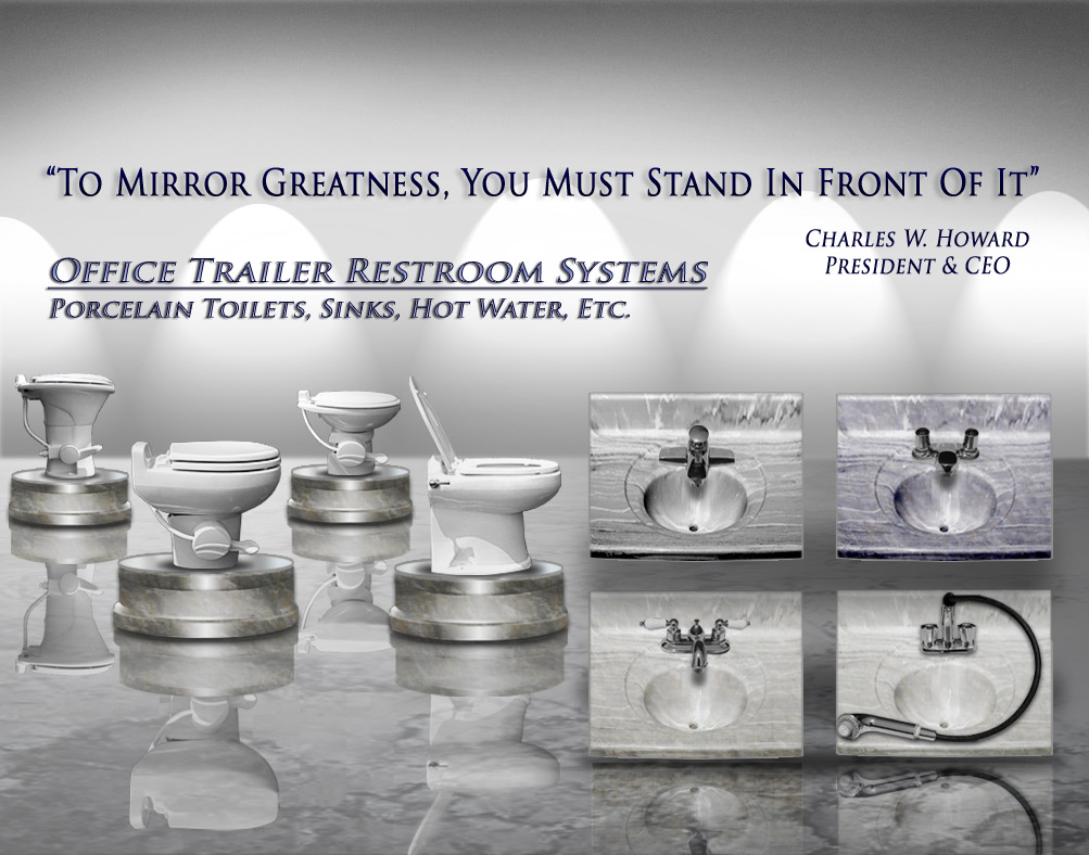 OFFICE TRAILER RESTROOM SYSTEMS