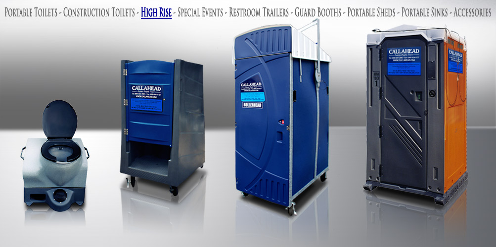 High Rise Portable Toilets
