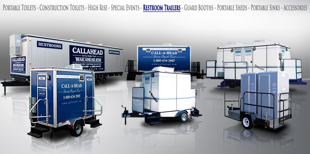 restroom trailers - Bathroom Trailers