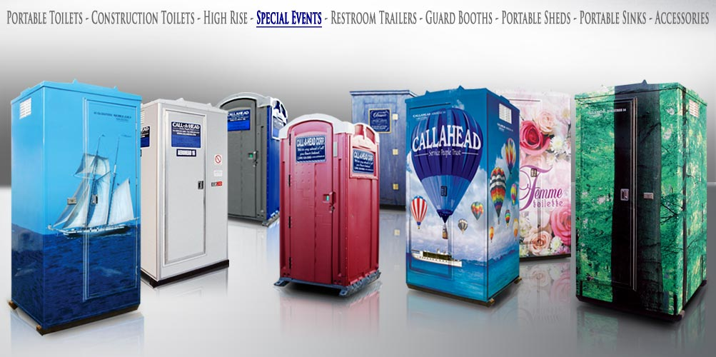 Special Events PORTABLE TOILETS
