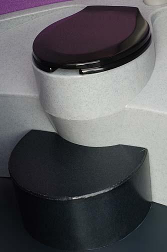 The Purple Potty Portable Toilet Porta Potty By