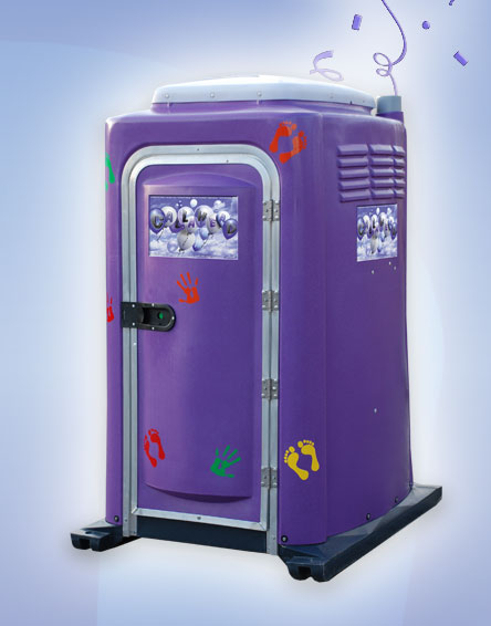 Purple Potty Toilet, Portable Toilet for kIDS