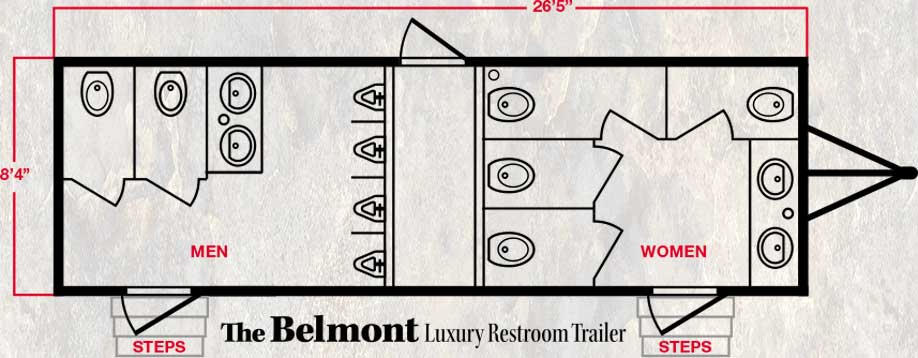 The Belmont Luxury Floor Plan