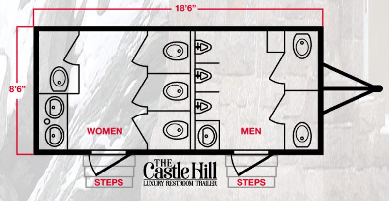 The Castle Hill Luxury Floor Plan