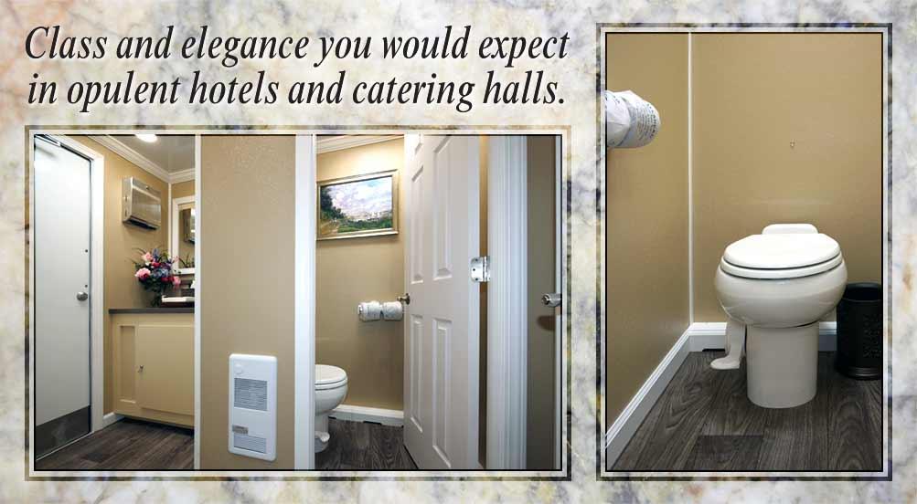 The Castle Hill Luxury Restroom Trailer Short Term Rental