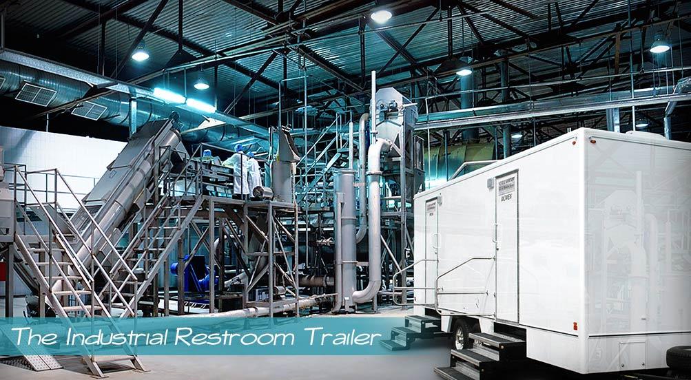 Construction Bathroom Trailer