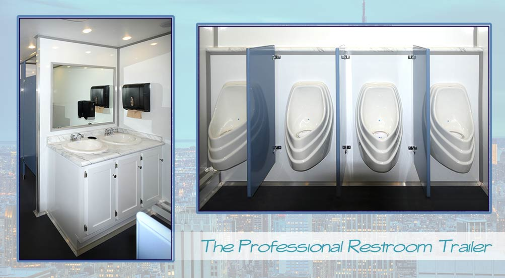 Construction Restroom Trailers Long Term Bathroom Trailers Job Stunning Bathroom Trailers