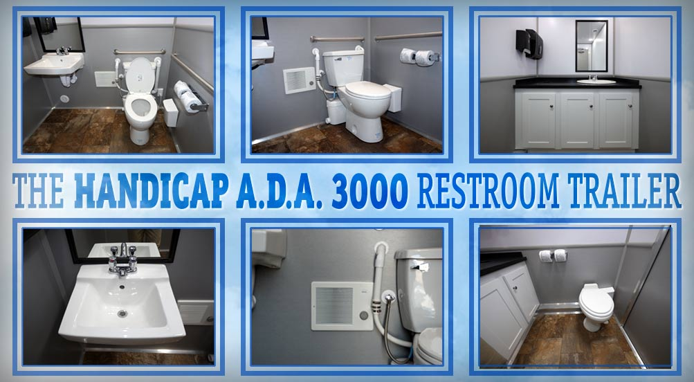 The Handicap ADA 3000 Portable Restroom