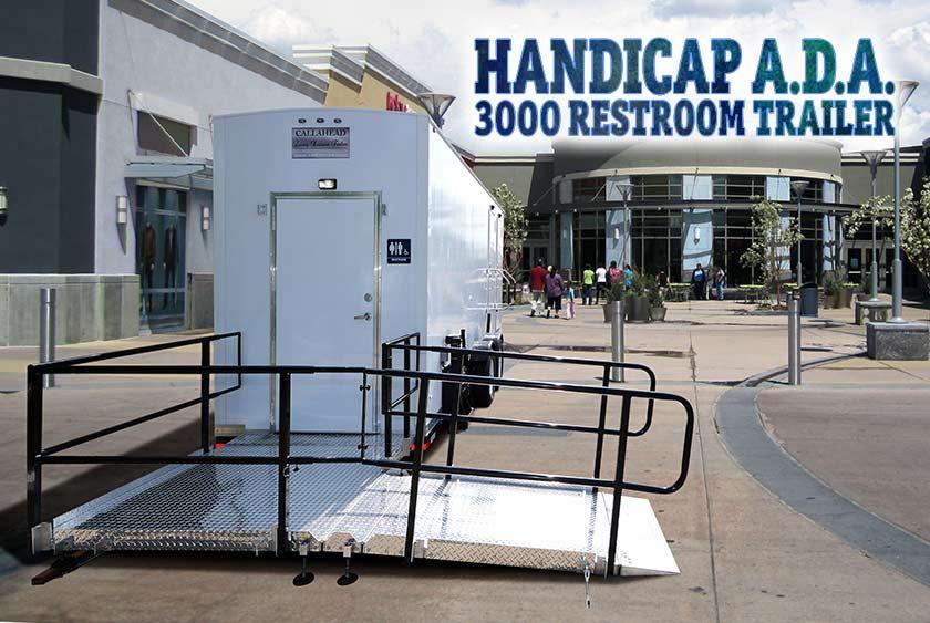 The Handicap Ada 3000 Restroom Trailer By Callahead 1 800