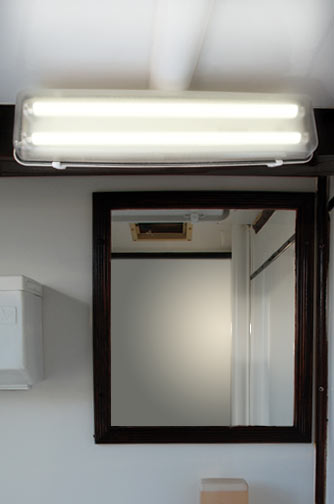 Mobilet Trailer - Mirror with Light