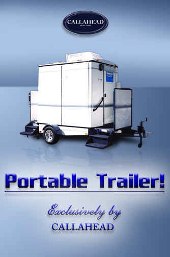 Mobilet Trailer - Portable Restroom Trailer
