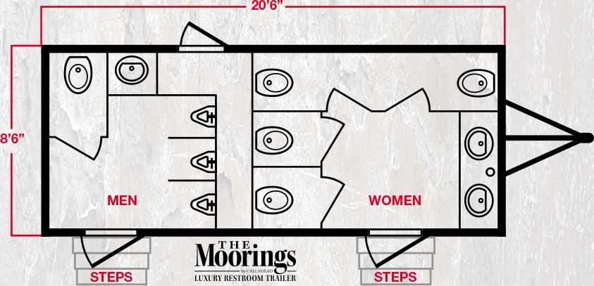 The Moorings Luxury Floor Plan
