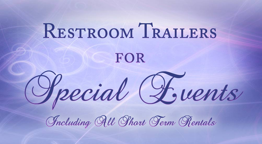 Special Events Restroom Trailers by Callahead