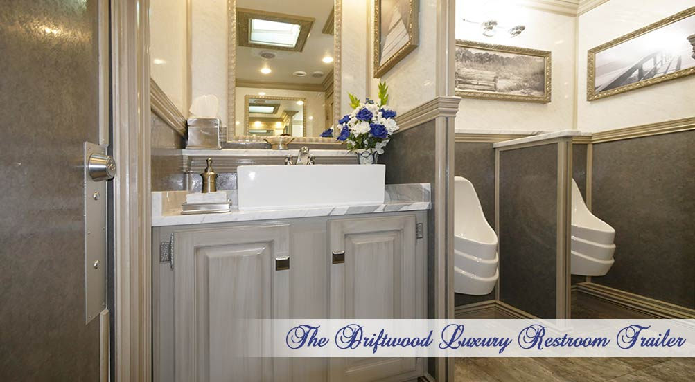 The Driftwood Special Events Restroom Trailer by Callahead