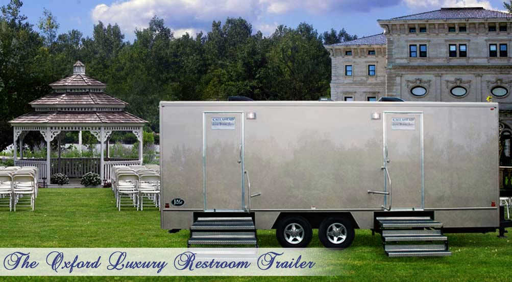 The Oxford Restroom Trailer