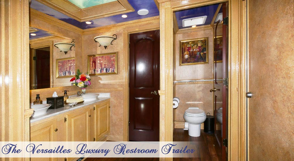 The Versailles Special Events Restroom Trailer by Callahead