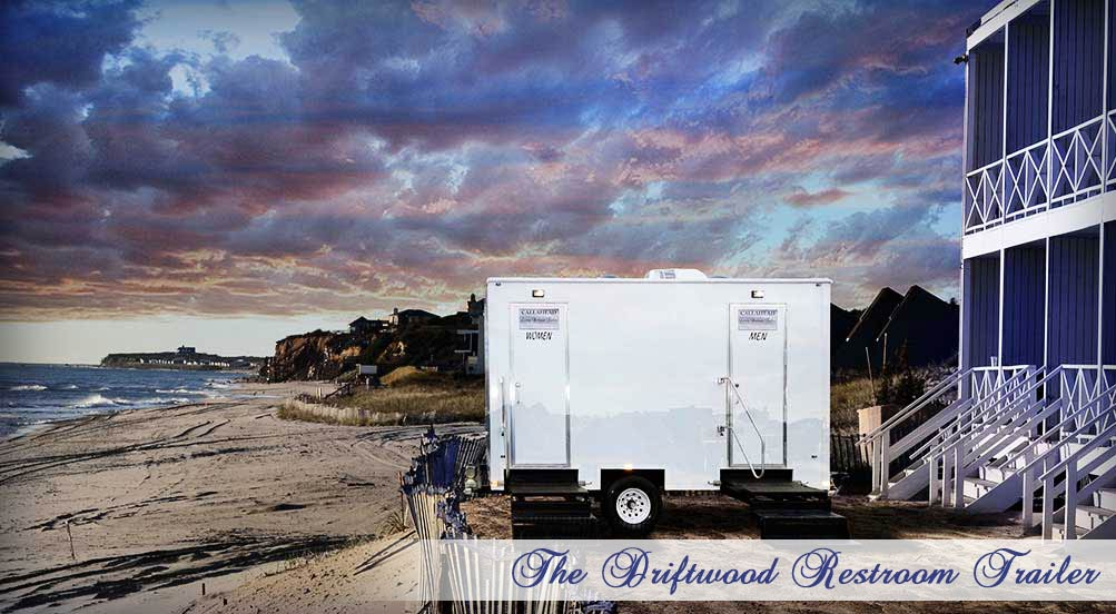 The Driftwood Luxury Restroom Trailer Interior by Callahead