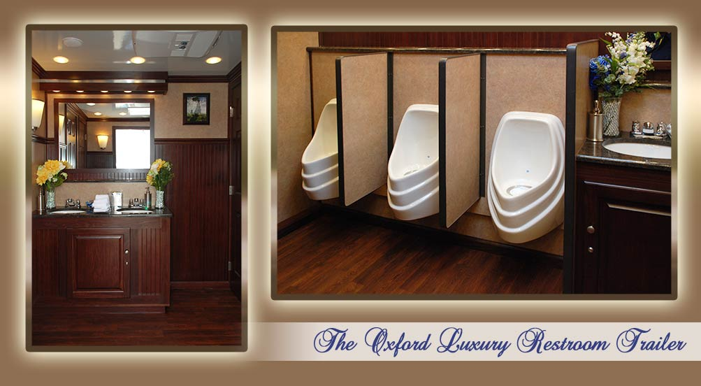 The Oxford Special Events Restroom Trailer Interior by Callahead