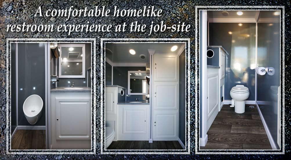 Portable Restroom Trailer in Westchester