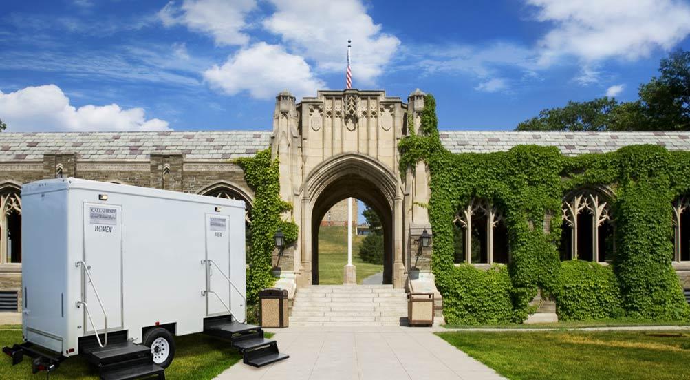 The Cambridge Bathroom trailer