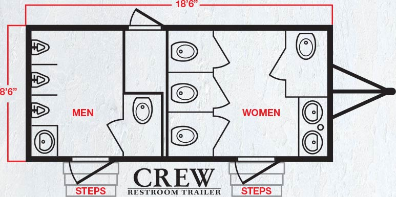 The Crew Floor Plan