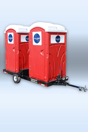 bathroom trailers the double head restroom trailer by callahead