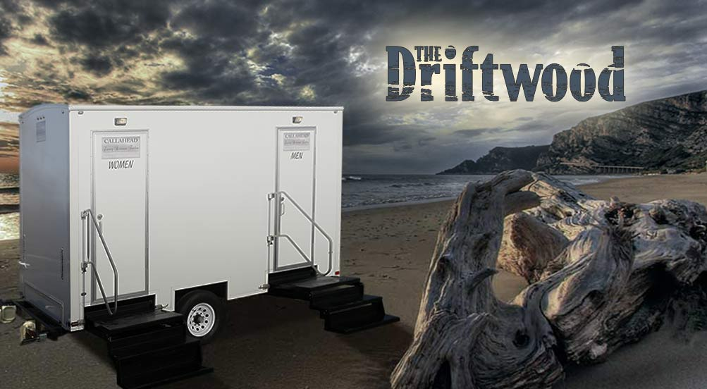 The Driftwood Restroom Trailer in NYC