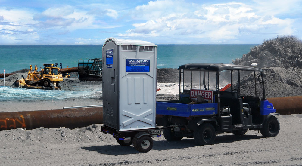 bathroom trailers the head trailer restroom trailer by callahead 1