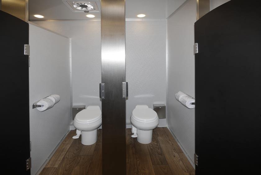 bathroom trailer rental the industrial restroom trailer