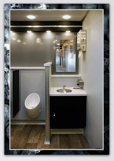 Bathroom Trailer Rental The Industrial By CALLAHEAD - Bathroom trailer rentals