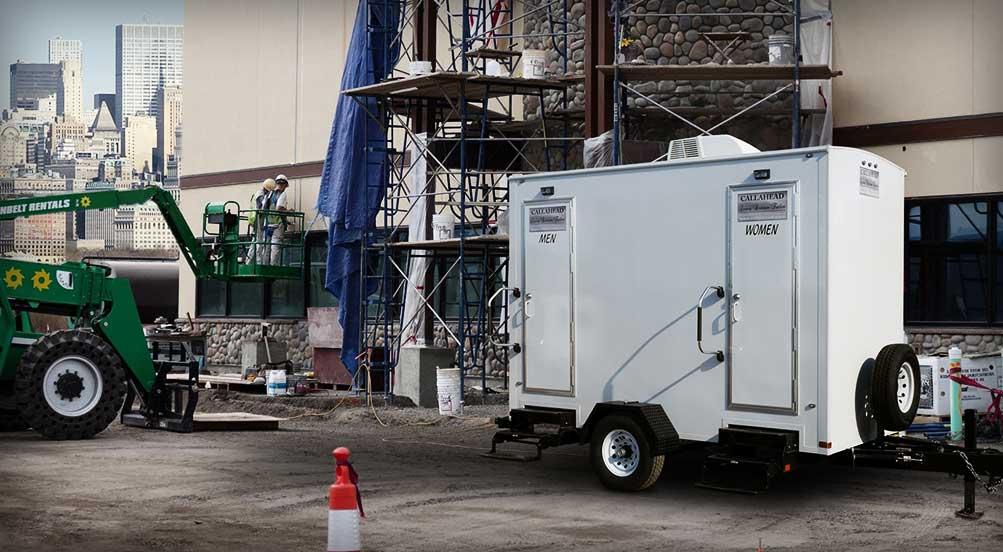 Construction Restroom Trailer