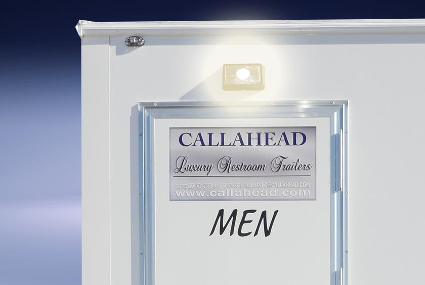 Job Site Portable Toilets : The job site restroom trailer by callahead