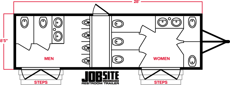 Job Site Trailer Layout