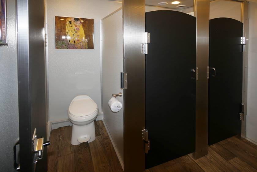 Restroom Trailers The Modern Luxury Restroom Trailer By