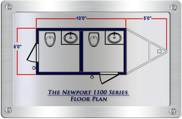 The Newport 1100 - Floor Plan
